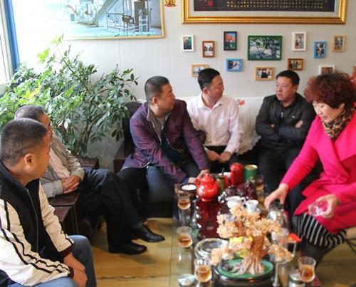 黑龙江商会到我公司参观与考察