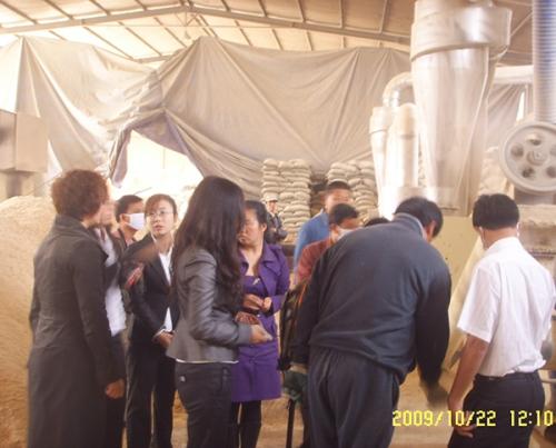 越南缅甸客户来我公司考察